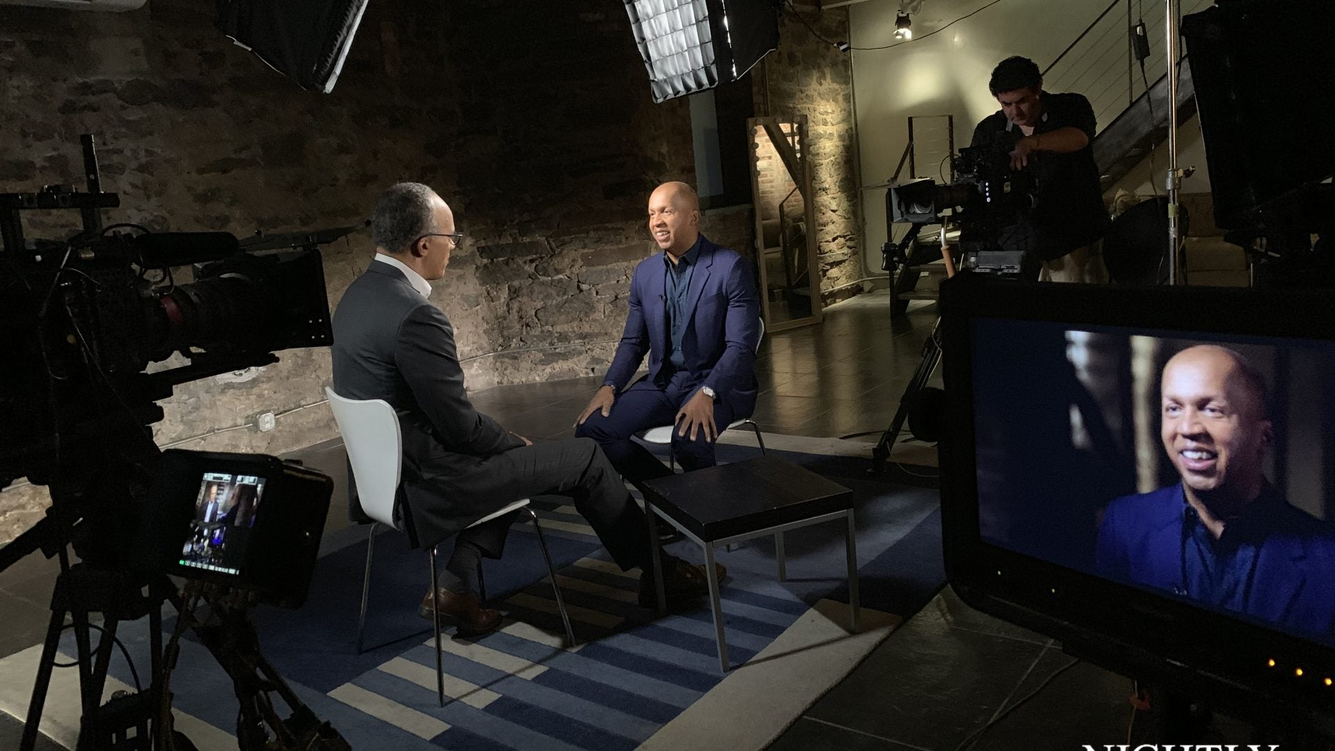 Exclusive Preview: Bryan Stevenson Sits Down With Lester Holt Ahead Of HBO Documentary
