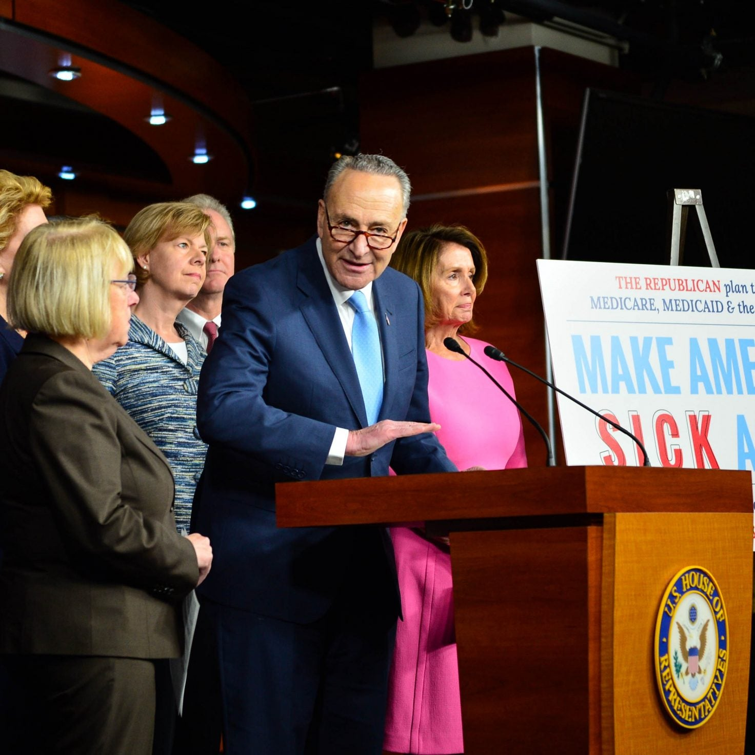 Senate Minority Leader Chuck Schumer Talks Voting Rights, Harriet Tubman And Black Women's Voting Power