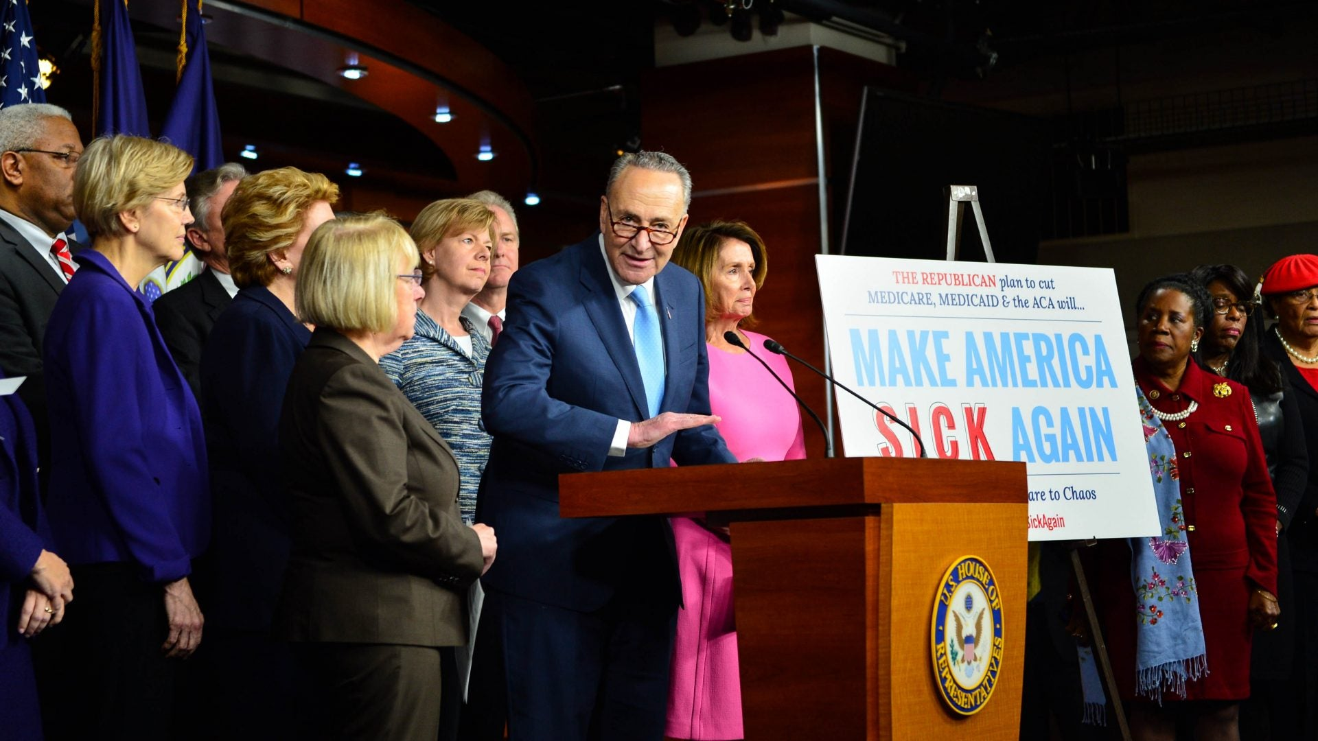 Senate Minority Leader Chuck Schumer Talks Voting Rights, Harriet Tubman And Black Women's Voting Power