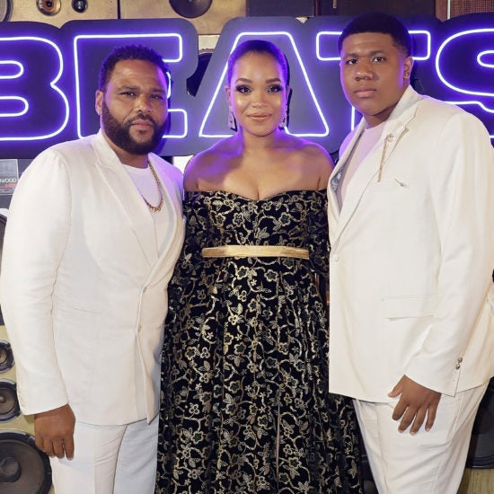 Anthony Anderson, Ashley Jackson, Khalil Everage And More Celebs Out And About