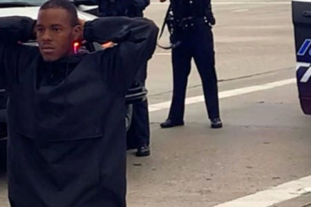 Woman Pleads With California Officers To Not Shoot Kneeling Black Man