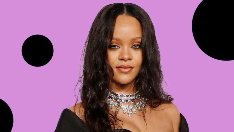 Rihanna Stunned In Box Braids At Fenty Pop-Up Shop
