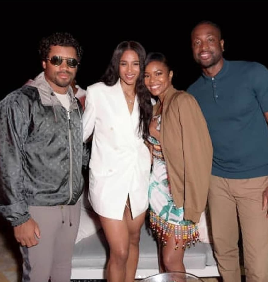Gabrielle Union and Dwyane Wade's World Tour Continues In