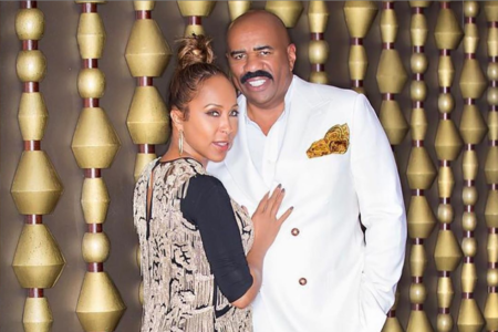 Steve And Marjorie Harvey Feel 'Forever Young' Celebrating Their Wedding Anniversary