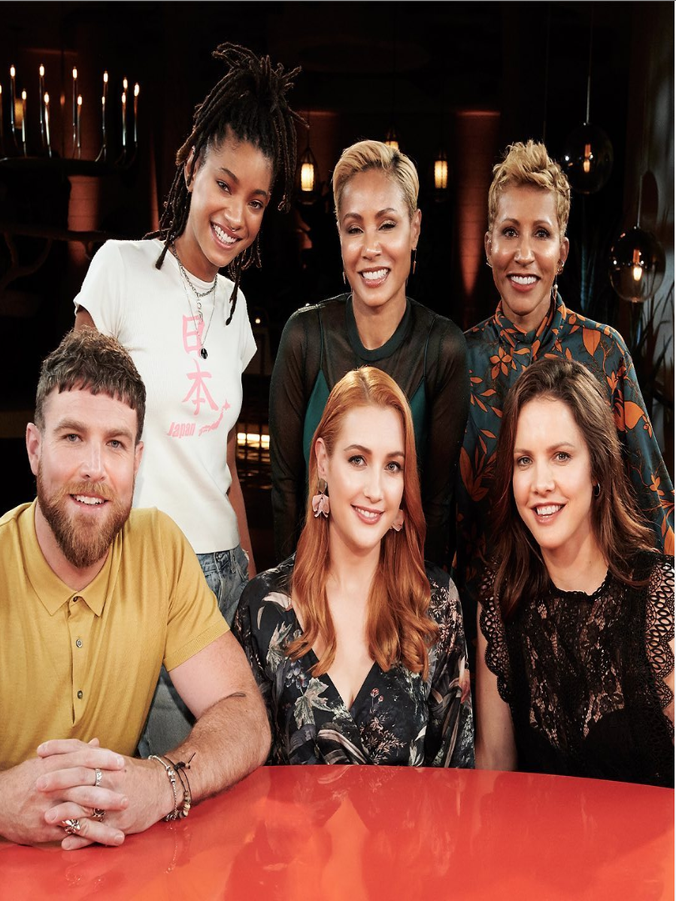 The 'Red Table Talk' Keeps It All The Way Real About Polyamory And Threesomes In A New Episode