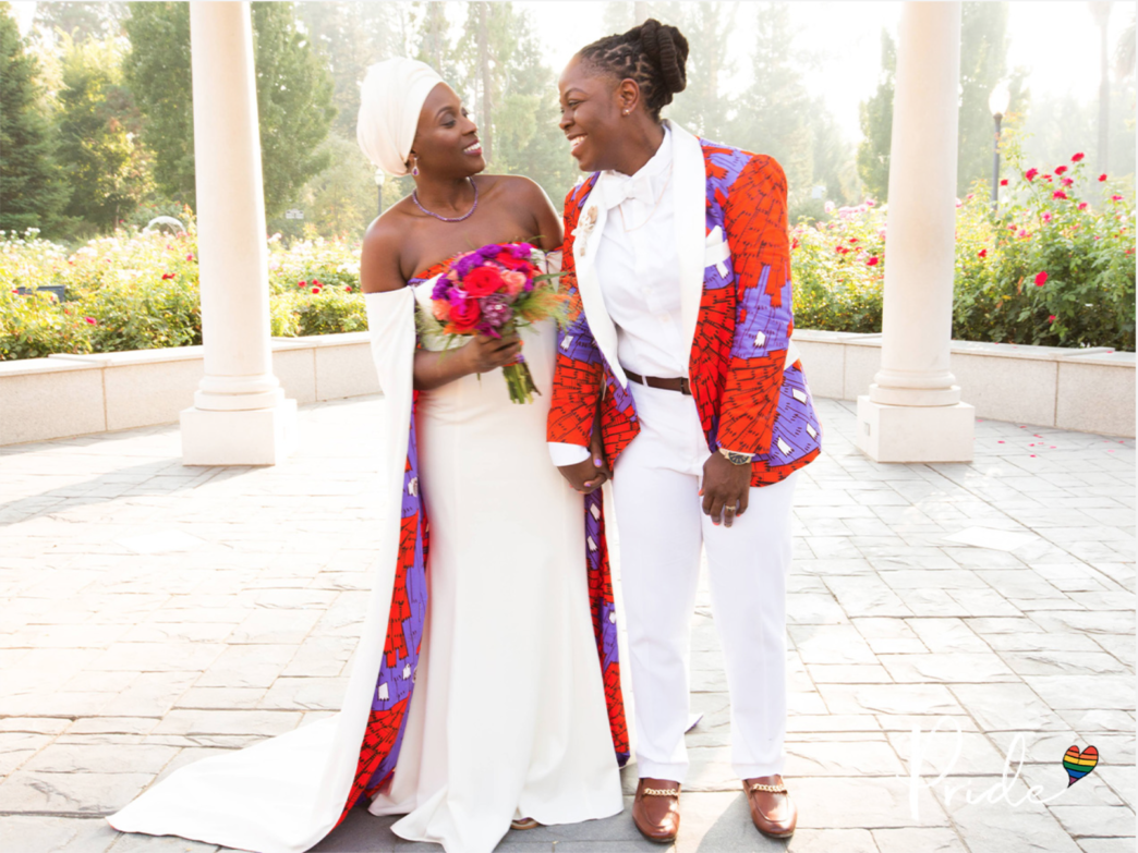 Bridal Bliss: Jeanelle and Jane's 'Crooklyn'-Inspired Reception Had So Much Black Pride