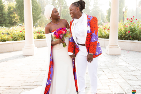 Bridal Bliss: Jeanelle and Jane's 'Crooklyn' Inspired Reception Had So Much Black Pride