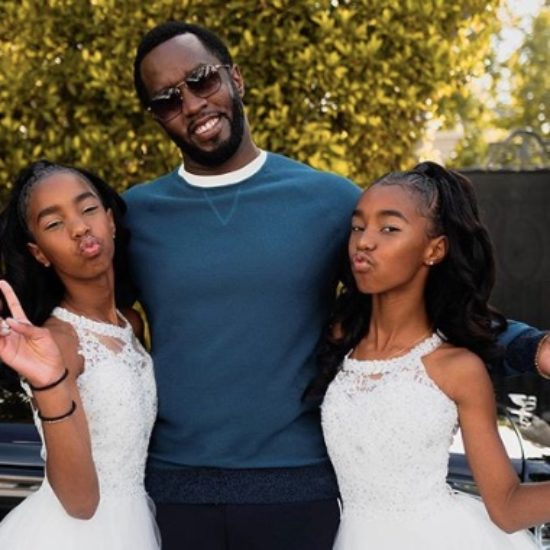Diddy And Family Celebrate The Twins' Graduation