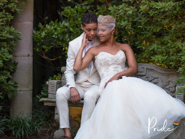 Bridal Bliss: Tiffany and Alyssa Went From DMs To 'I Do'