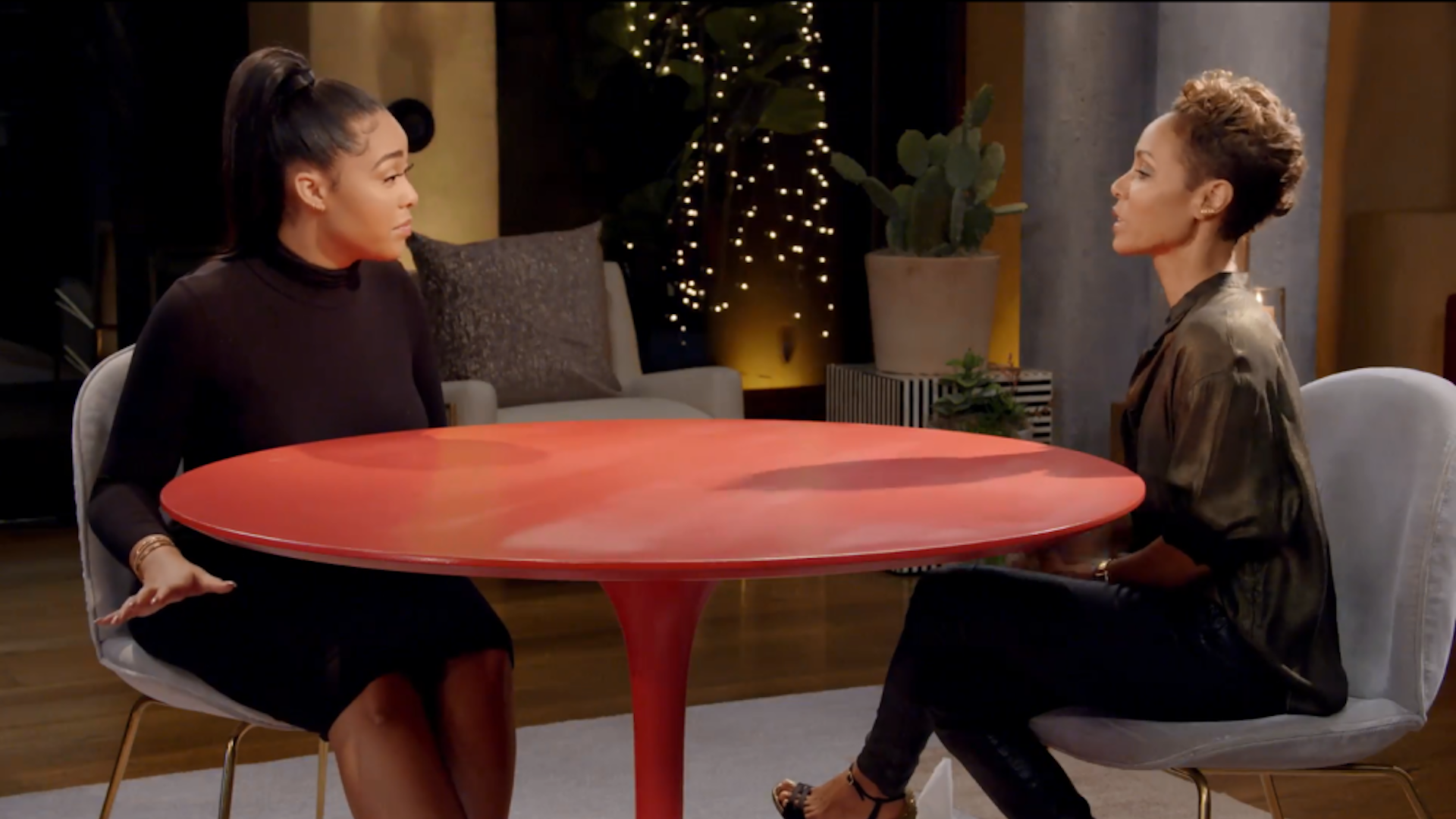 Jada Pinkett Smith Initially Didn't Want Jordyn Woods On 'Red Table Talk'