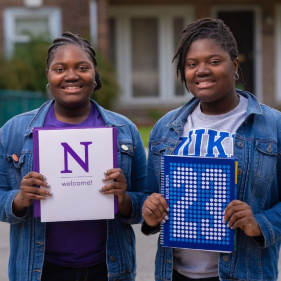 Identical Twins At Chicago Academy Graduate As Co-Valedictorians