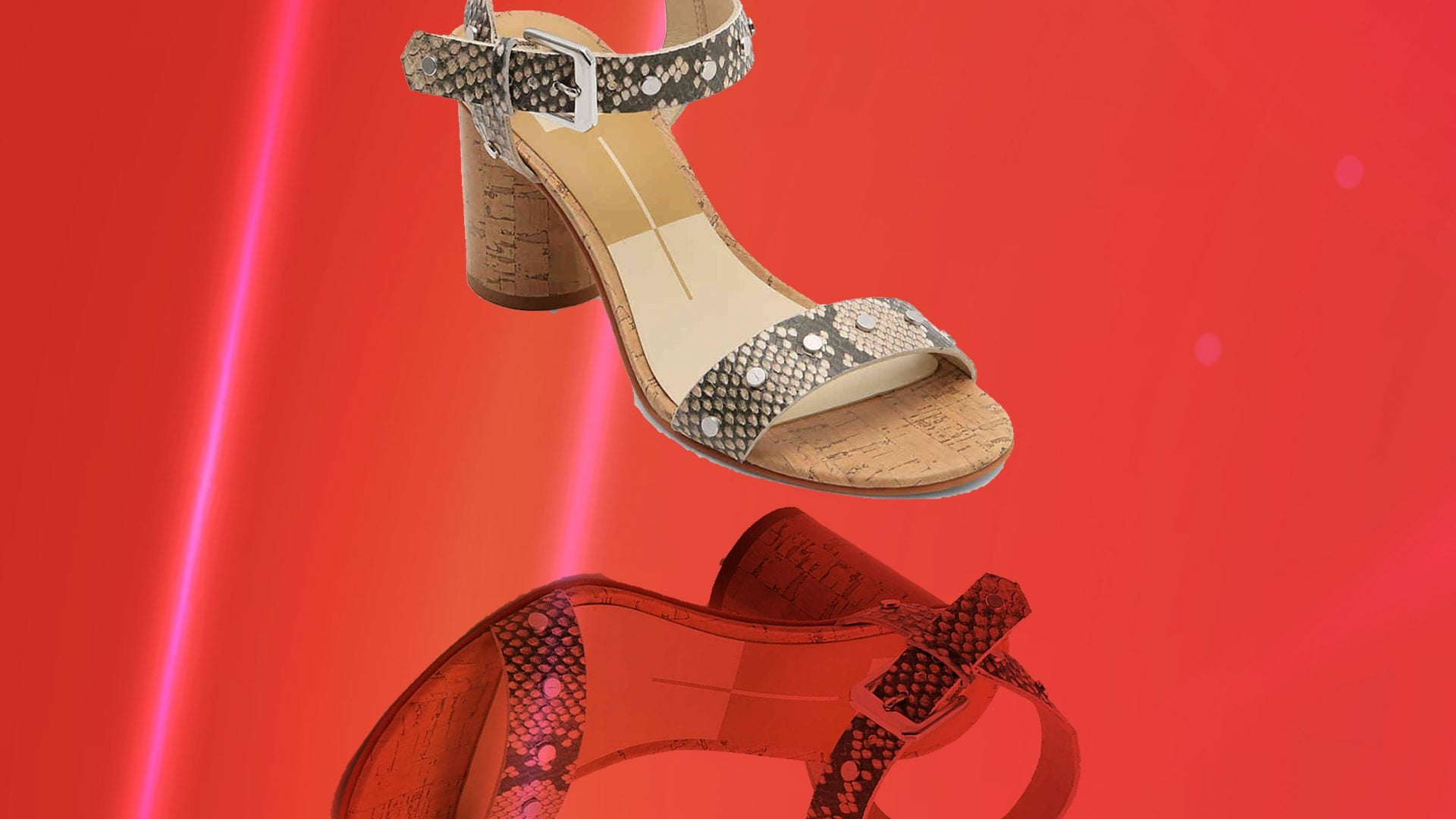 These Fierce $80 Snake-Print Heels Are My New Go-To