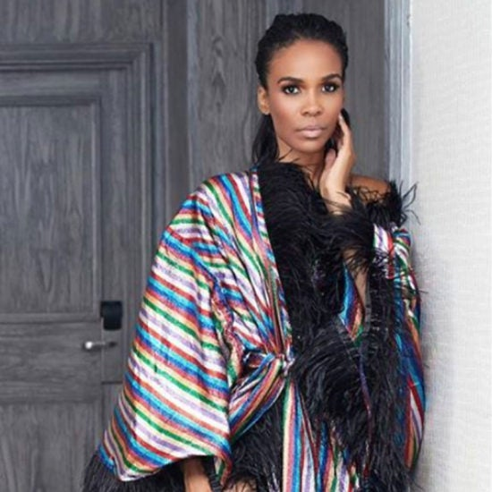 Michelle Williams Is A Vision In This Killer Kimono And Now We Want One, Too