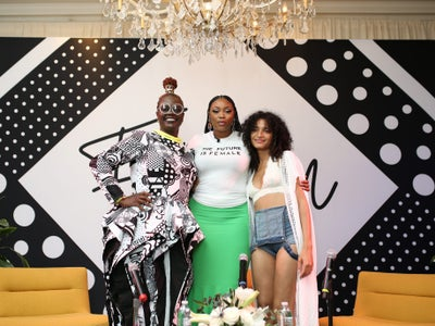 Indya Moore And Liris Crosse Talk About Creating A More Inclusive Fashion World