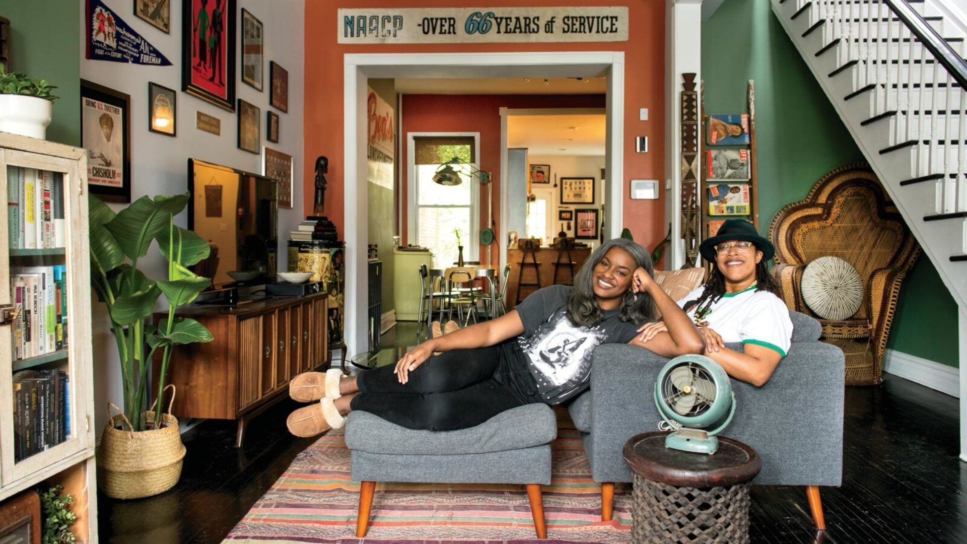 Get An Exclusive Look At What It's Like To Be At Home With BLK MKT Vintage