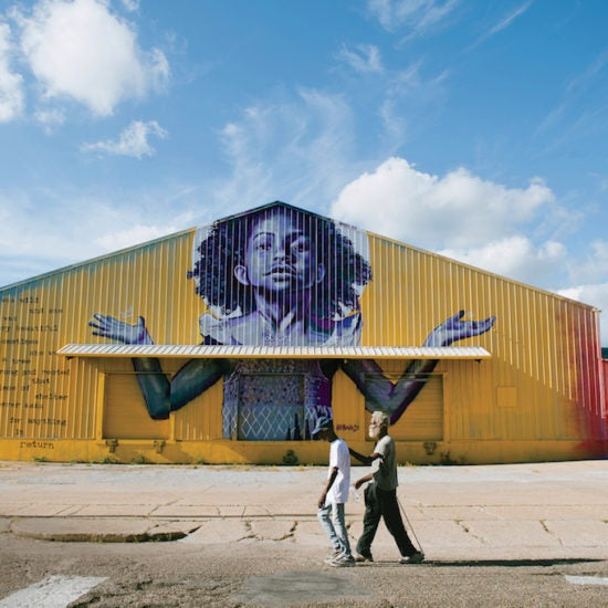 """Painting The Town Black: Brandan """"BMike"""" Odums Breathes Life Into The Corners Of New Orleans"""