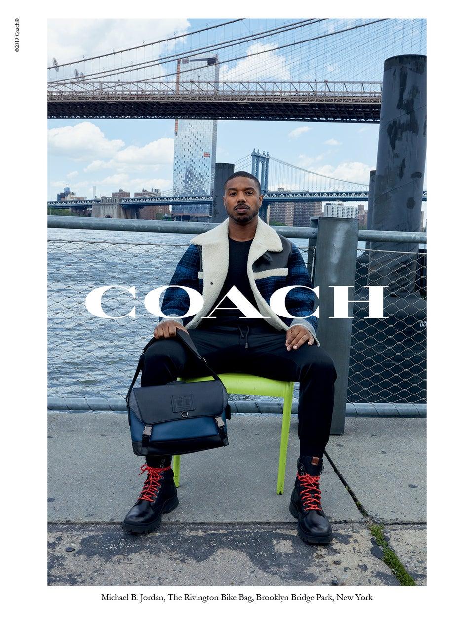 Michael B. Jordan and Yara Shahidi Star in Coach's New Fall/Winter 2019 Campaign