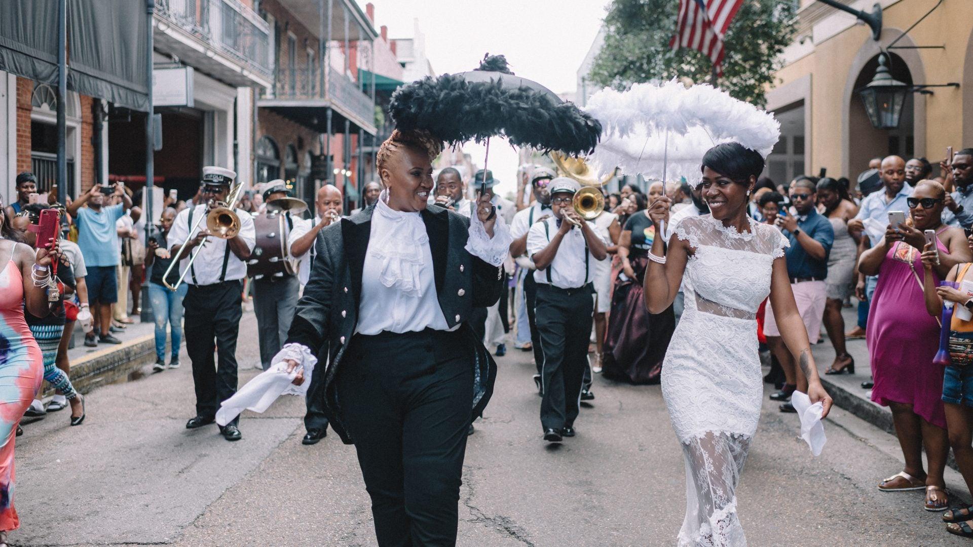 Lisa And Sunette Said 'I Do' During Essence Festival 2018