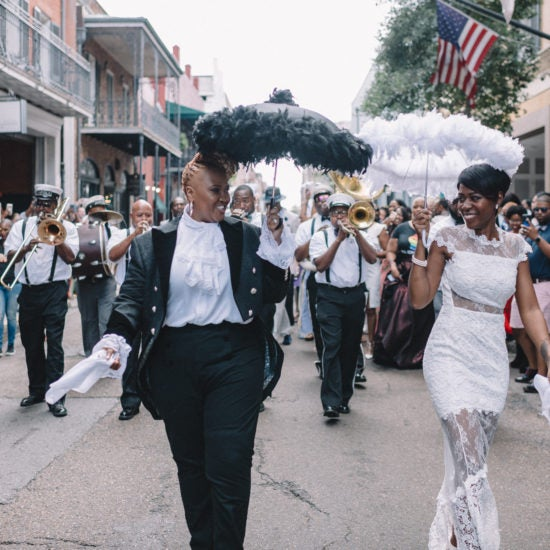 Bridal Bliss: Lisa and Sunette Said 'I Do' During Essence Festival 2018