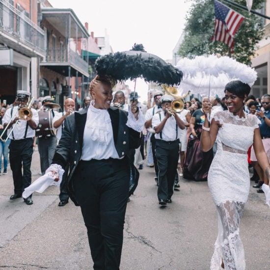 Bridal Bliss: Lisa and Sunette Said 'I Do' During Essence Festival 2018