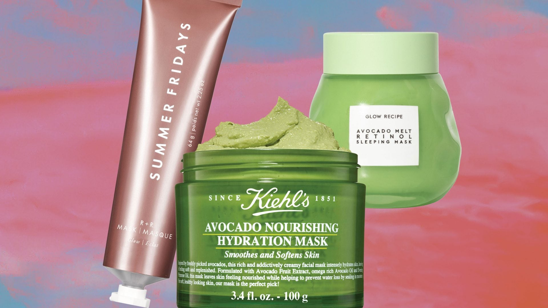 Dip Into These Beauty Masks For National Avocado Day