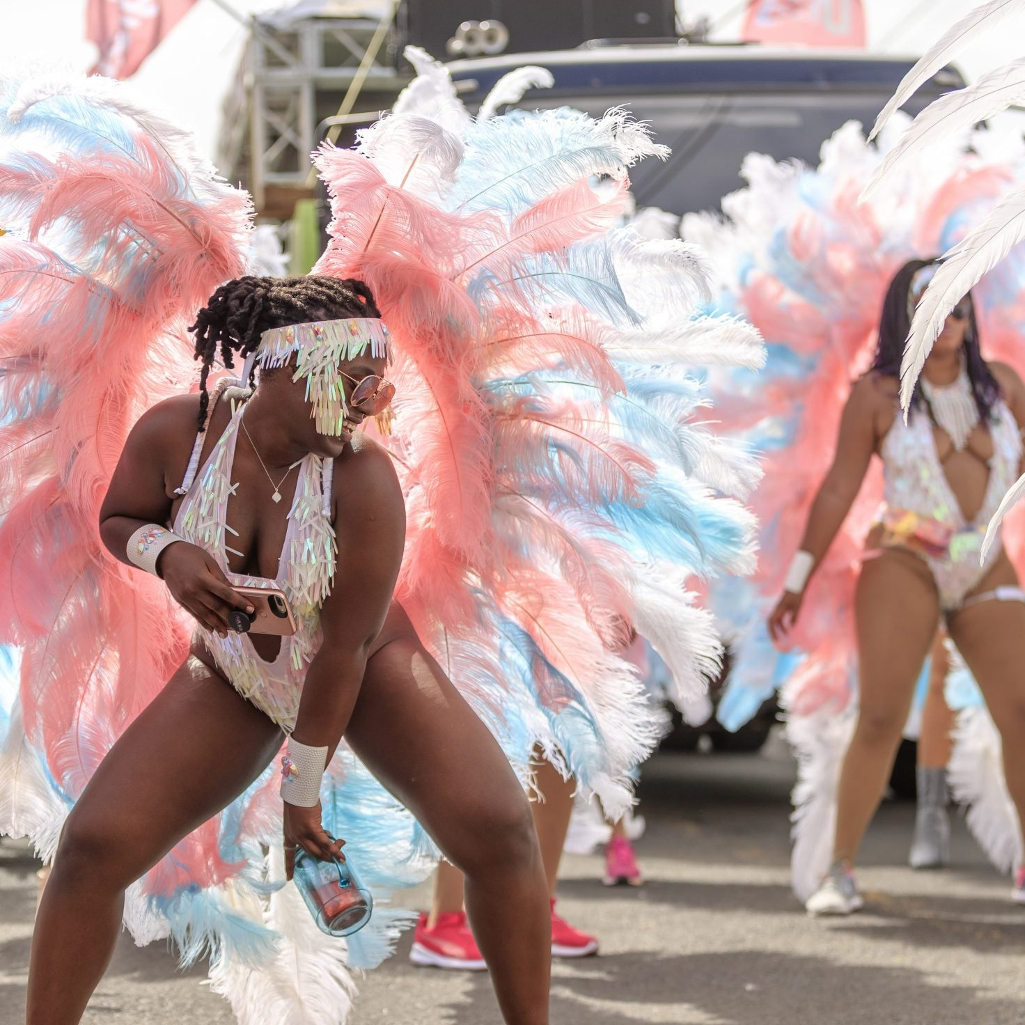 Vibes Cyah Done! These Colorful Moments From Vincy Mas Were Pure Fiyah