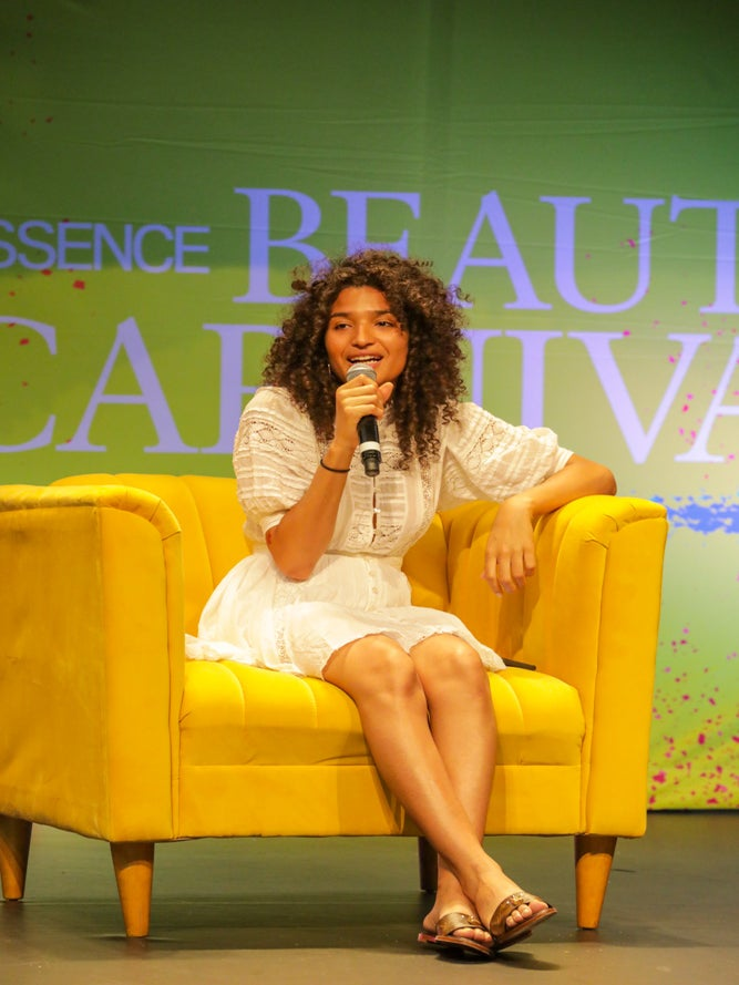Indya Moore Makes History At Essence Festival 2019