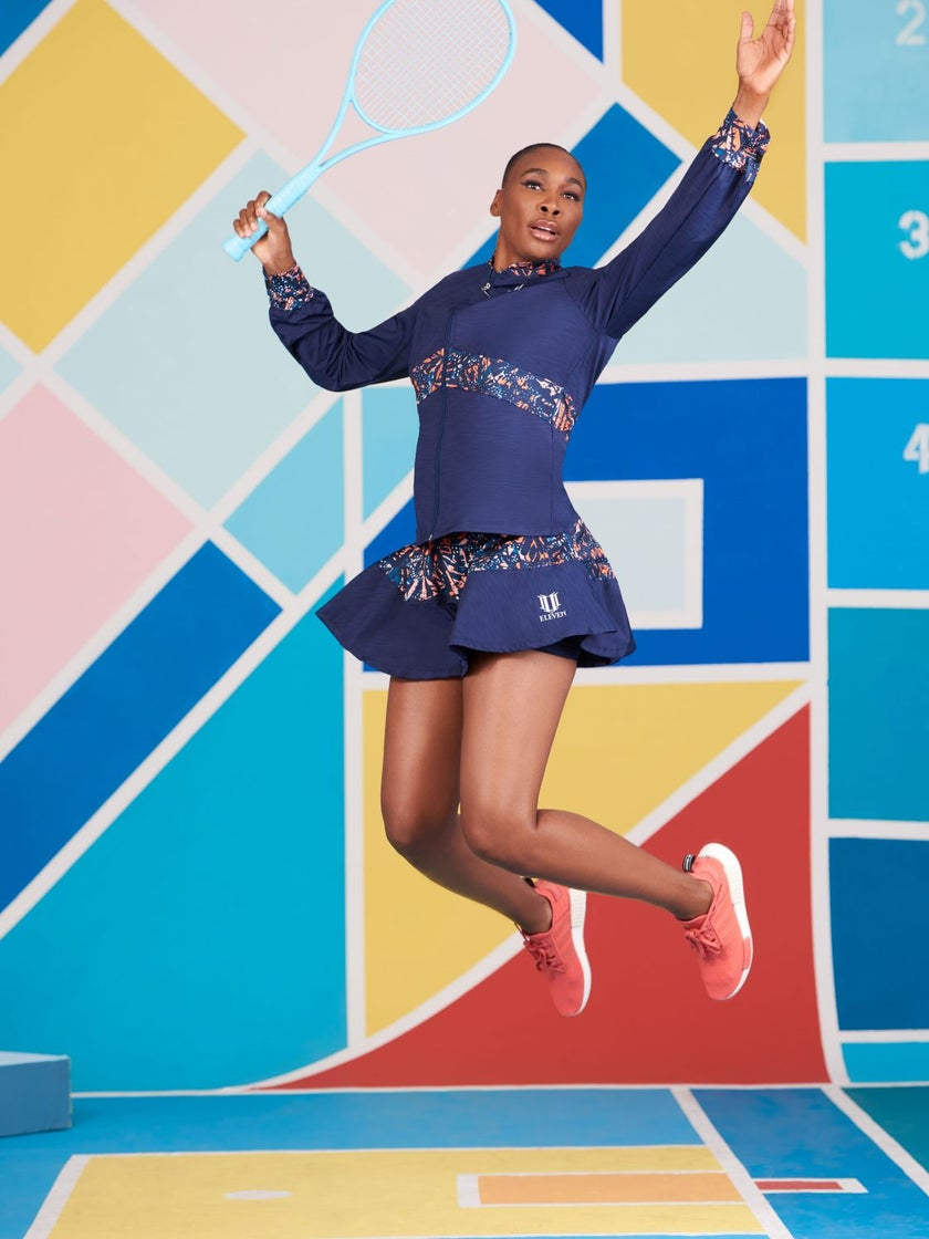 EXCLUSIVE: Venus Williams Dishes On New EleVen Collection