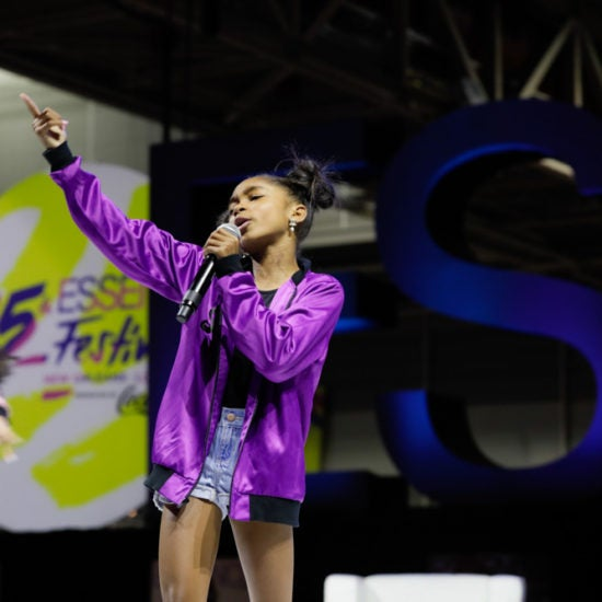 Viral Sensation That Girl Lay Lay Rocks Essence Festival's Center Stage Like A Pro
