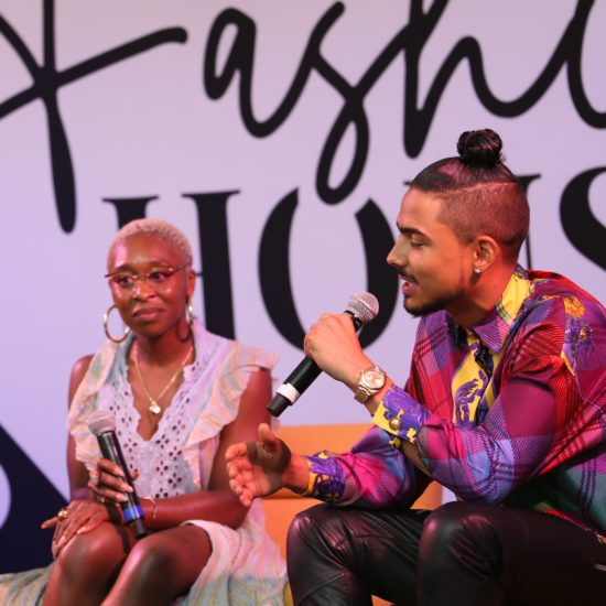 Essence Fashion House: Quincy Brown and Cynthia Erivo Talk The Intersection Between Fashion And Film
