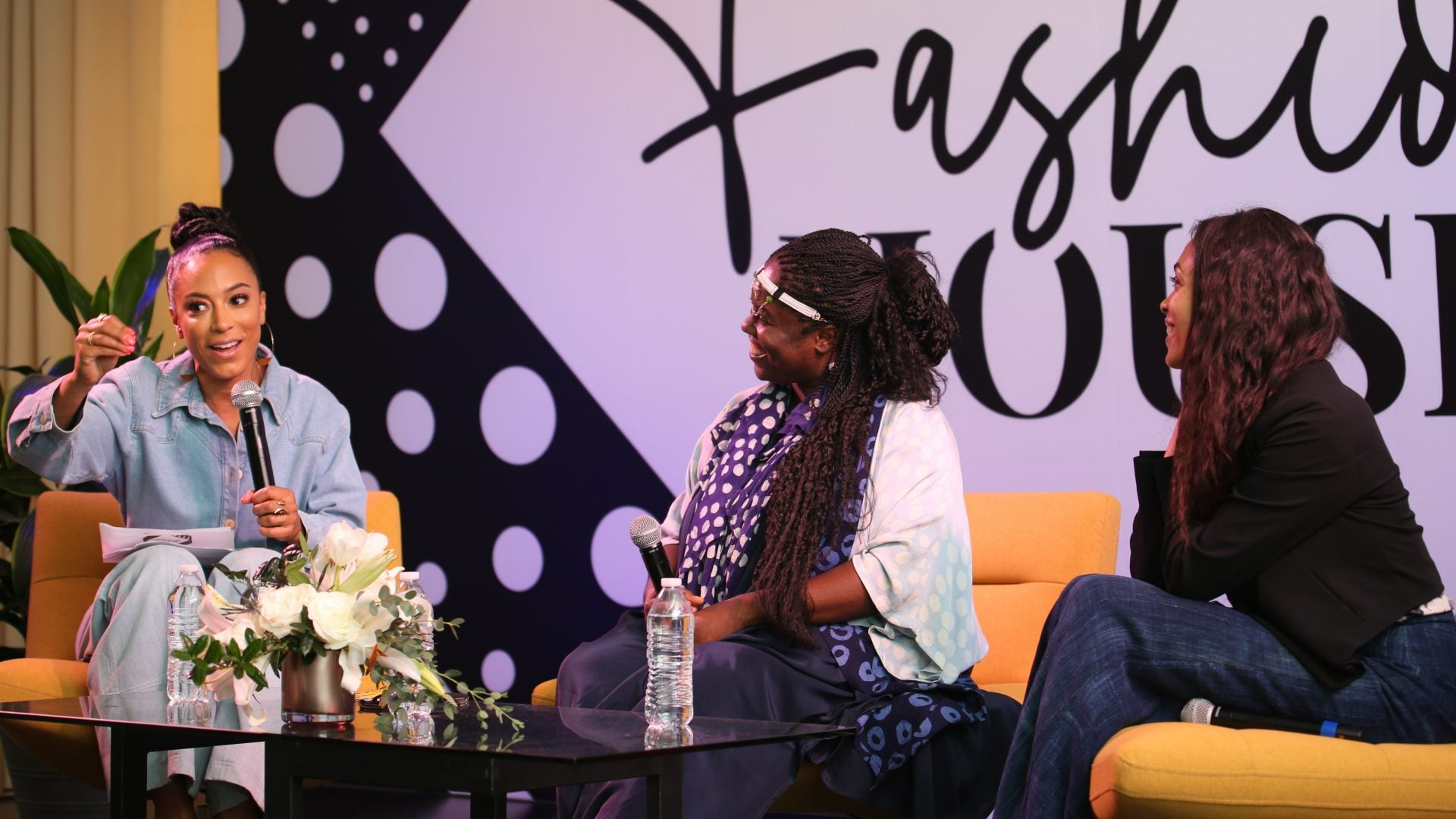Angela Rye, Rosario Dawson And Abrima Erwiah Talk Sustainability And Circularity In The Fashion Industry