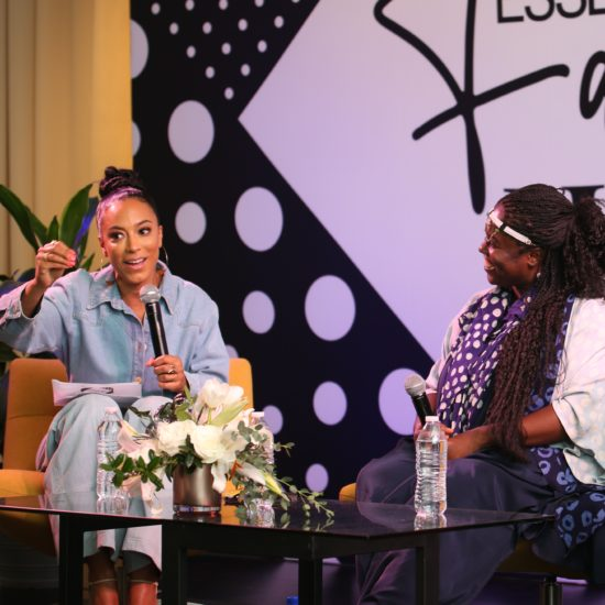 ESSENCE Fashion House: Angela Rye, Rosario Dawson And Abrima Erwiah Talk Sustainability In The Fashion Industry