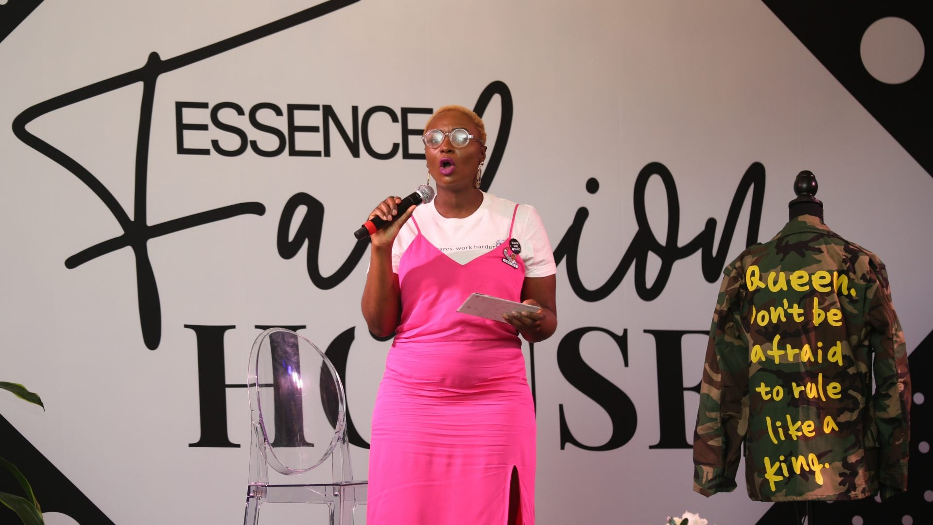 Kalilah Wright Hosts Master Class At ESSENCE Fashion House