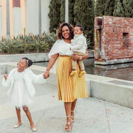 LoveBrownSugar's Christina Brown Passed This Little Life Lesson Down To Her Kids