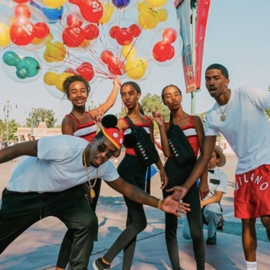 Diddy Takes Chance Combs To Disneyland For Her 13th Birthday