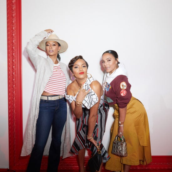 LeToya Luckett, Keri Hilson & Eudoxie Bridges Are Living Their Best Life At Essence Festival