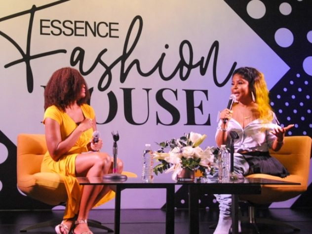 Misa Hylton And Tanisha Ford Chat At ESSENCE Fashion House