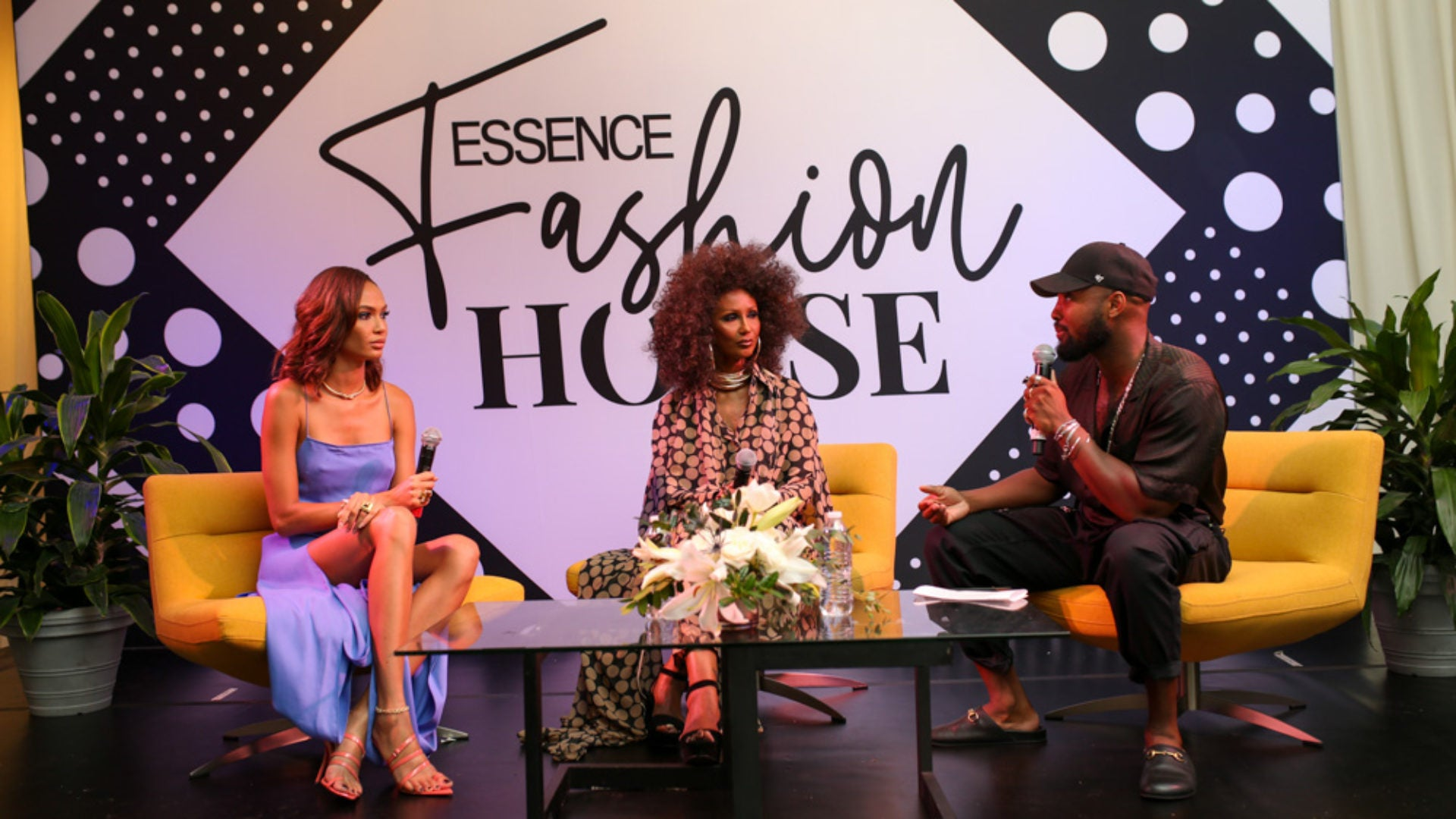 Iman and Joan Smalls Discuss Being Black Women In The Modeling Industry At Essence Festival
