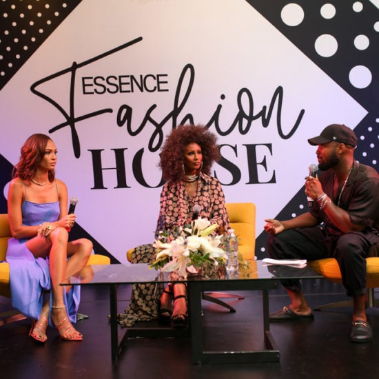 Essence Fashion House: Iman and Joan Smalls Keep It Real About Being Black Women in The Modeling Industry