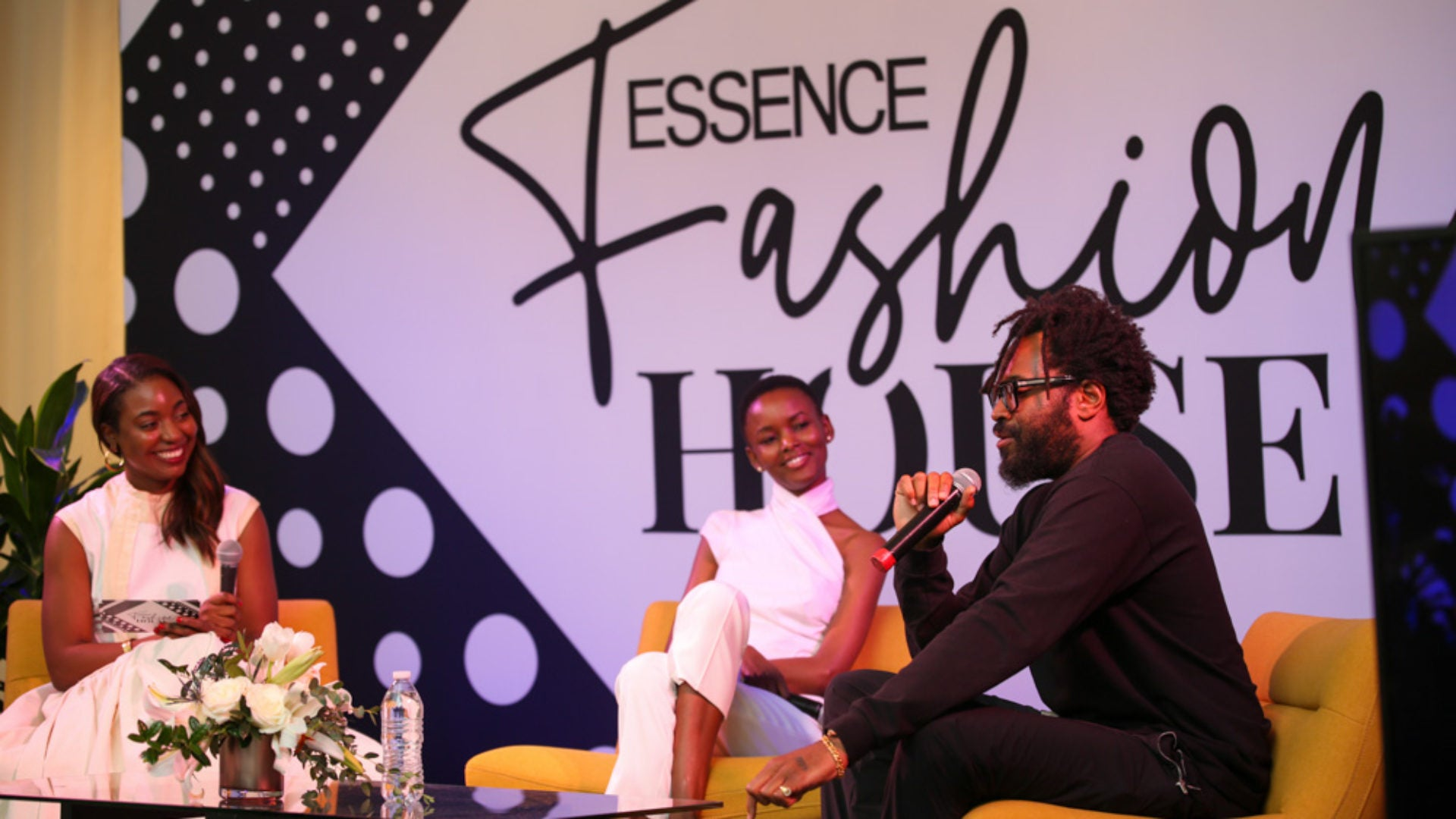 Maxwell Osborne and Flaviana Matata Talk Fashion and Social Responsibility