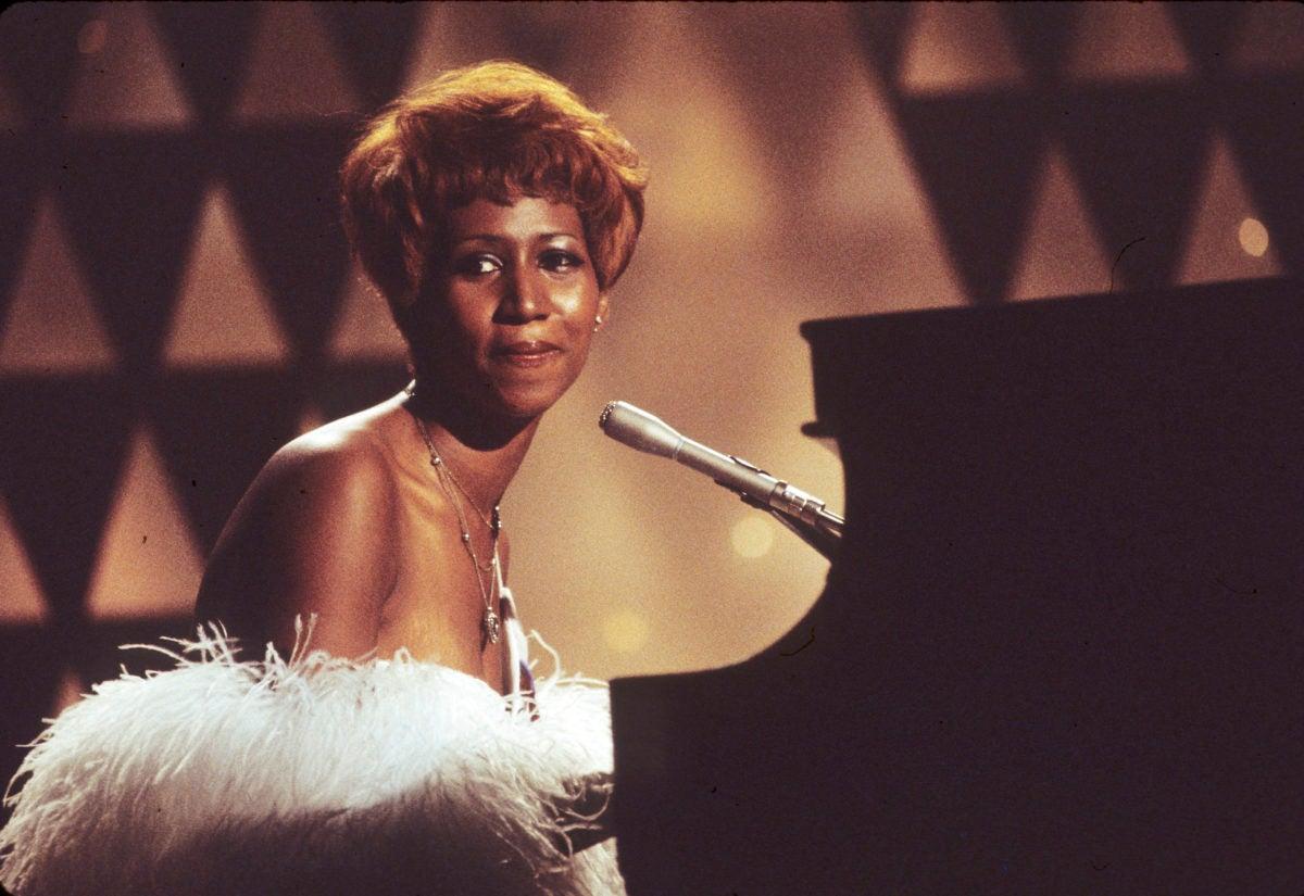 Aretha Franklin Singing On Muhammad Ali Variety Special