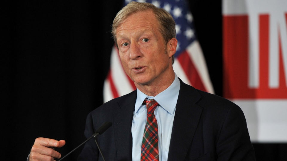 Tom Steyer Works To Appeal To Black Voters With HBCU Plan, New Commercial
