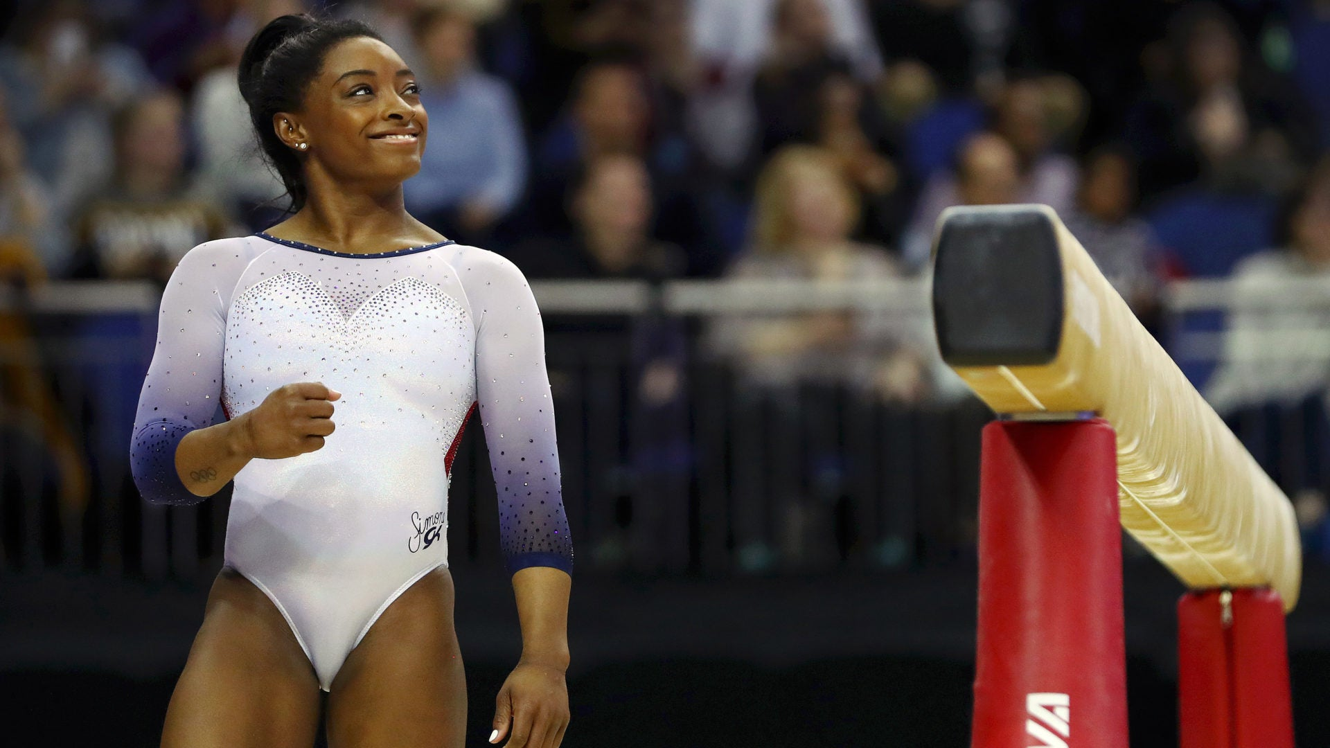 Simone Biles Is Now The First Gymnast To Ever Land A Double-Double Dismount