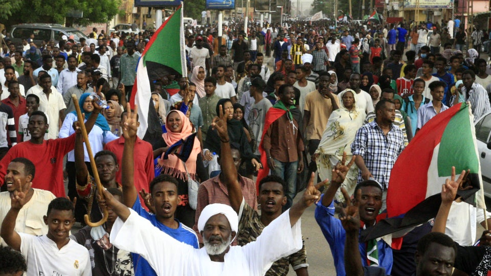 At Least 7 Killed In Sudan During Day Of Protests
