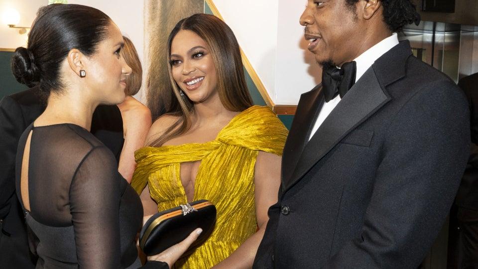 A Royal Reunion: Beyoncé And Meghan Markle Finally Meet!