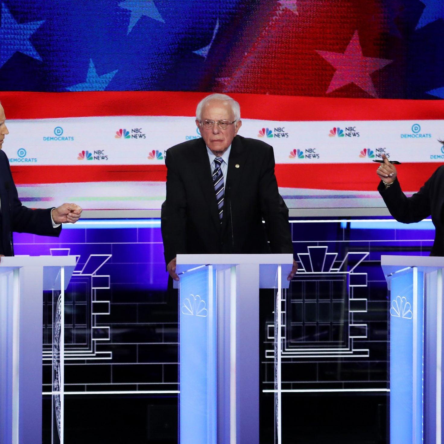 Biden, Sanders, And Warren Tied In New 2020 Election Poll