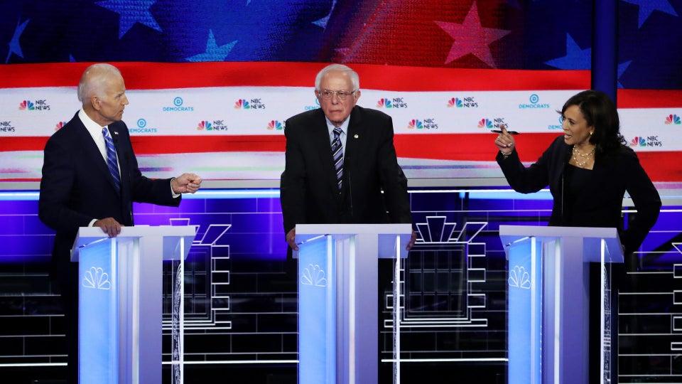 New Poll Puts Sanders, Warren, Harris In Lead Ahead Of Democratic Debates