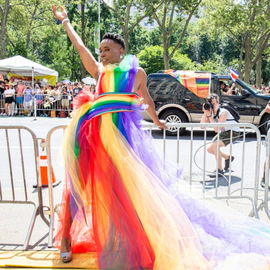 Celebrities Mark The End Of Pride Month With Rainbow-Filled Weekend