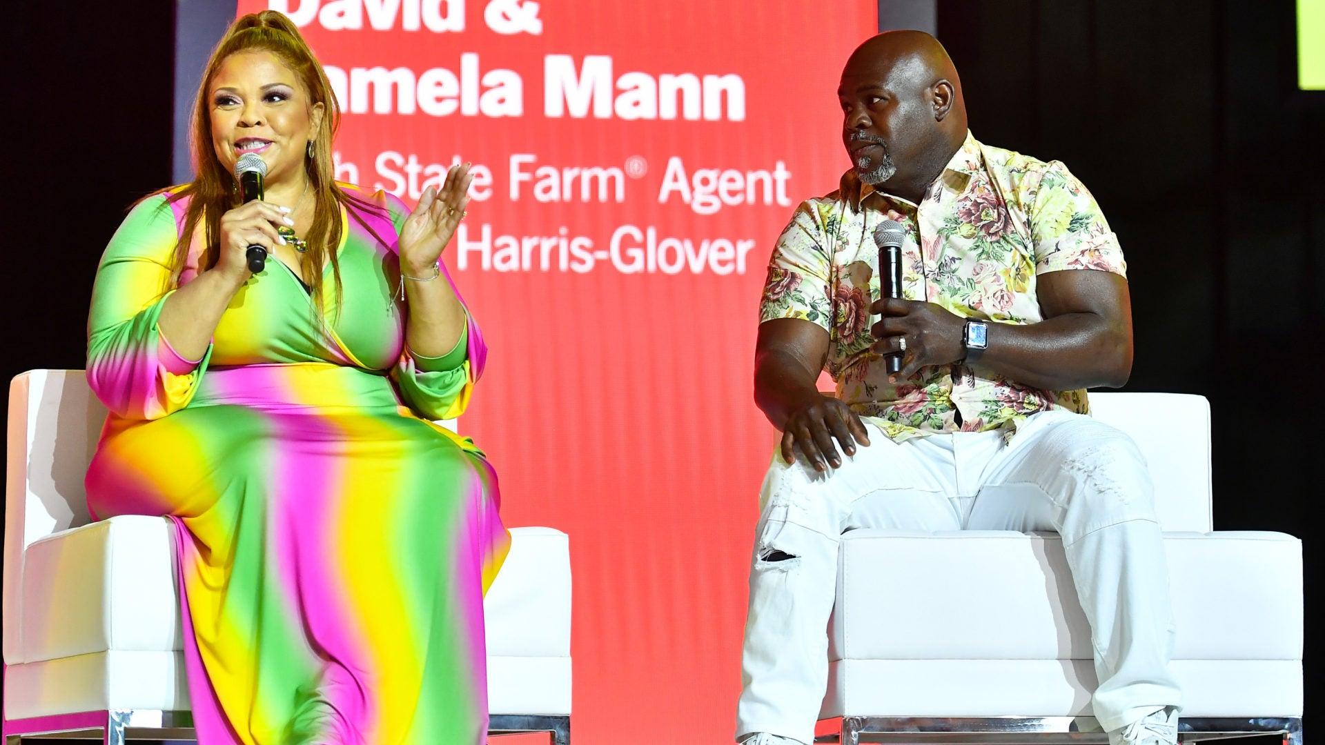 David And Tamela Mann Talk About Financial Wellness