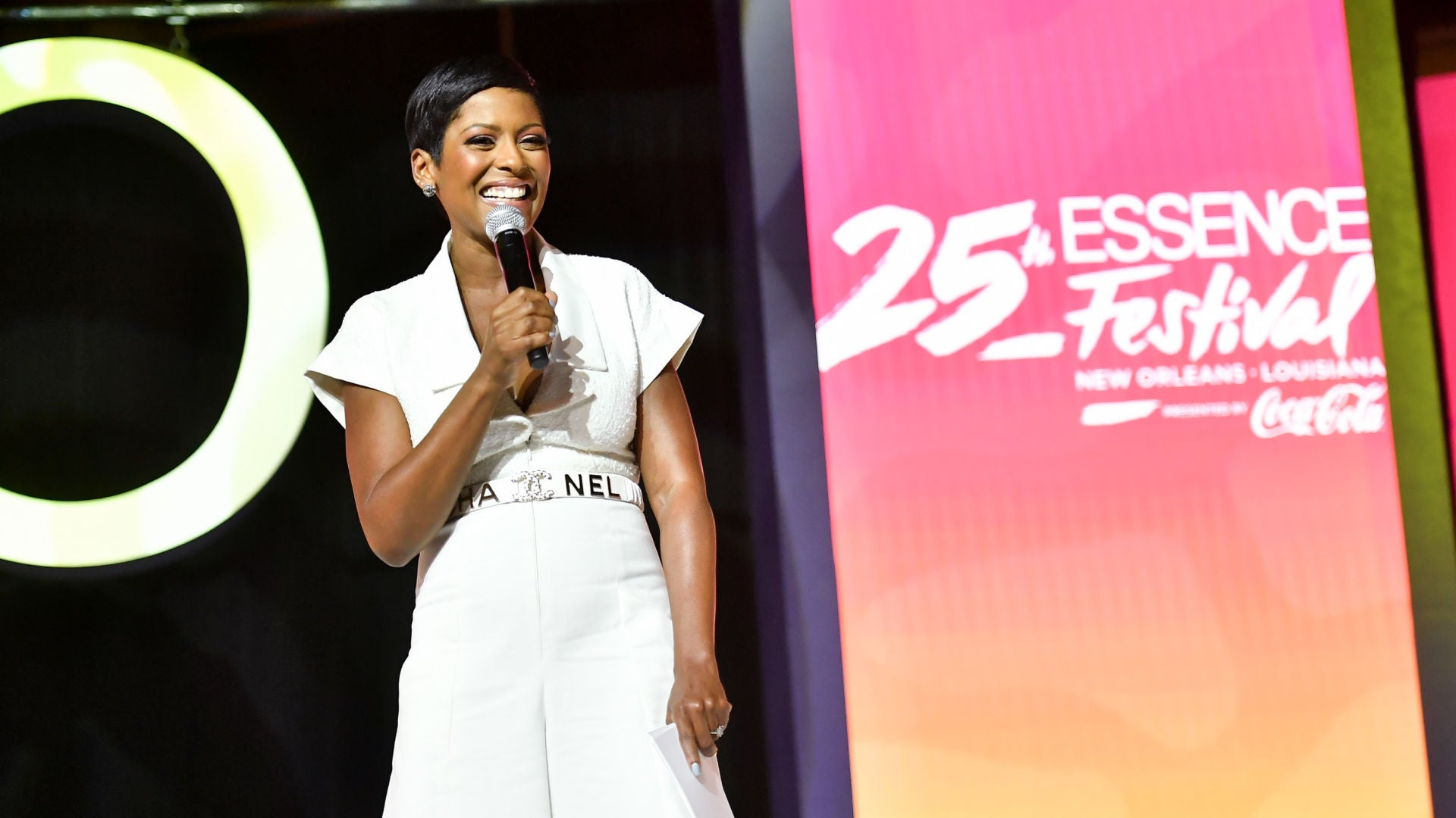 Tamron Hall Moved To Tears At Essence Festival Talking About Her TV Comeback